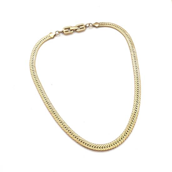 "Givenchy 18.25"" Gold Chain Necklace Size ONE SIZE"