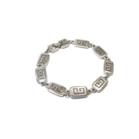Givenchy Silver Logo Bracelet Size ONE SIZE