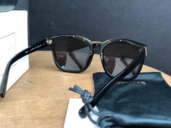 Balmain Balmain Black Gold Sunglasses BL 7008 Size ONE SIZE - 3