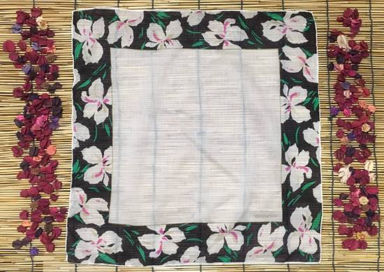 Givenchy Givenchy Handkerchiefs, Floral Handkerchiefs, White Color Handkerchiefs, Bandana Women Size ONE SIZE - 1