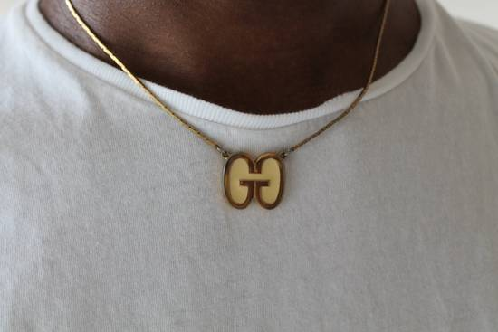 Givenchy Gold Plated Double G Necklace Size ONE SIZE
