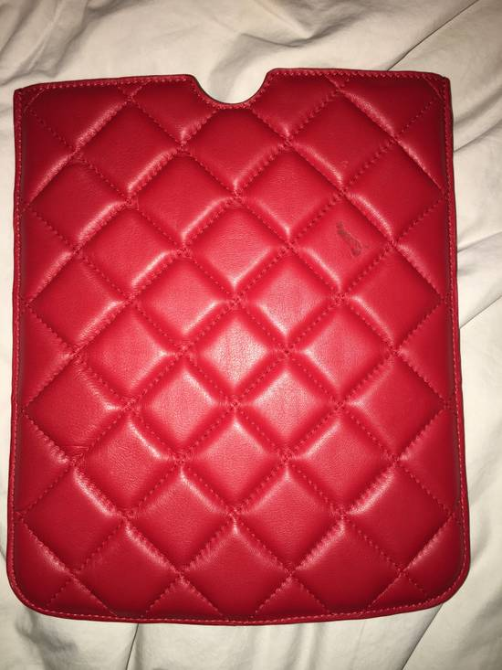 Givenchy GIVENCHY quilted iPad case ONE SIZE Size ONE SIZE - 1