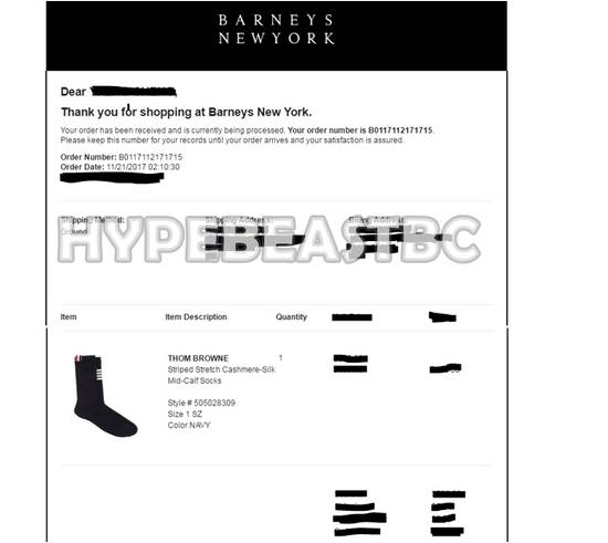 Thom Browne THOM BROWNE Socks 4-Bar Cashmere Silk Mid-Calf Socks, Navy, NWT Size ONE SIZE - 8