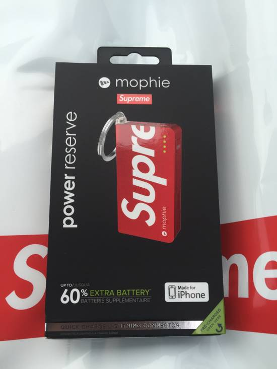 Supreme Supreme mophie power reserve Size ONE SIZE