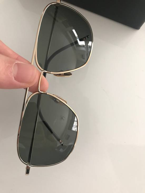 Thom Browne Thom Browne Gold Sunglasses Size ONE SIZE - 4