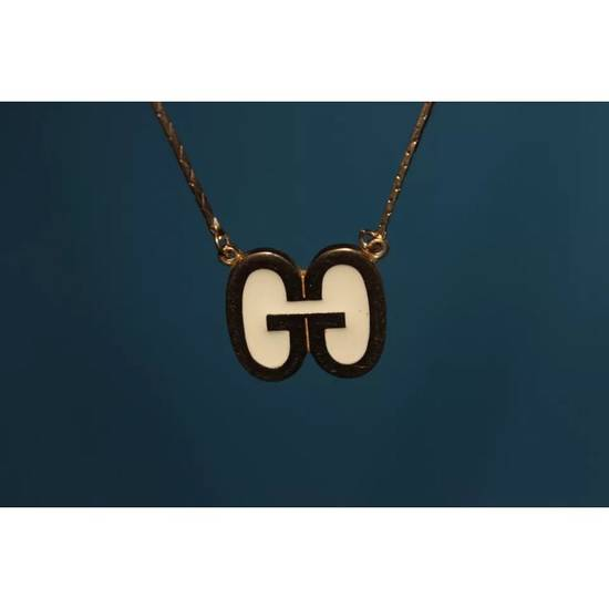 Givenchy Vintage Givenchy Gold Logo Pendant Necklace Size ONE SIZE - 4