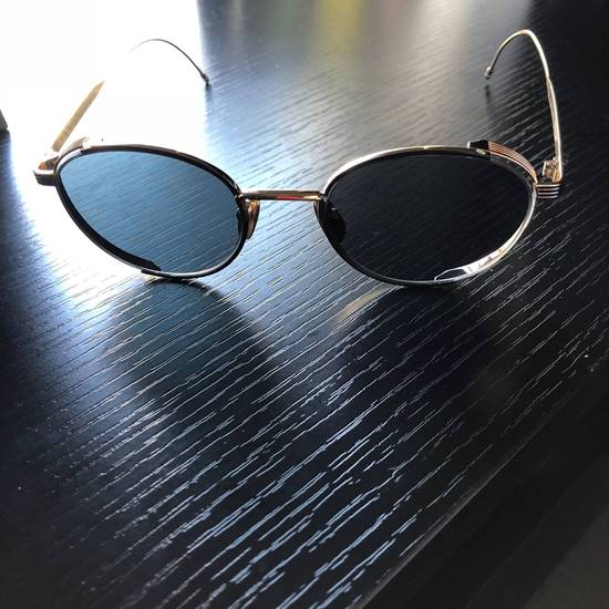Thom Browne Thom Browne Gold Round Sunglasses Size ONE SIZE - 2