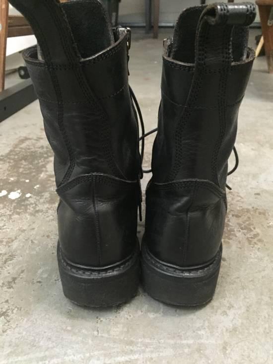 Julius LAST DROP 11-Hole Sidezip Combat Boots Size US 9 / EU 42 - 10