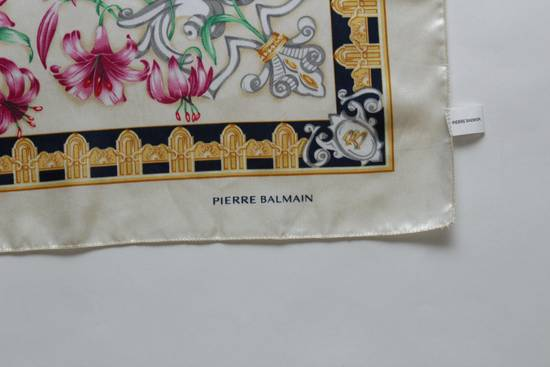 Balmain Pierre Balmain Shawl Scarf Rare Vintage Luxury Exclusive 🔥 Final Price 🔥 Final Drop or delete !! Need Gone Today !! Size ONE SIZE - 3