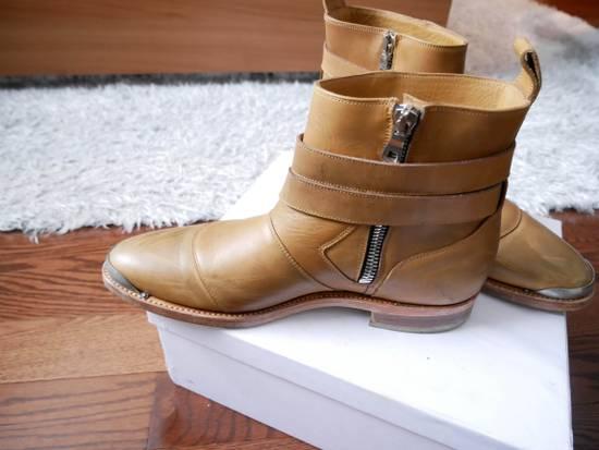 Balmain Balmain Steel Toe Boots Sz 44 (US 11) Size US 11 / EU 44 - 1