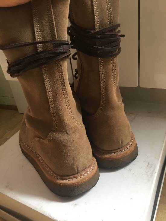 Balmain Balmain Ranger Boots Suede Decarnin 2011 Size US 9 / EU 42 - 4