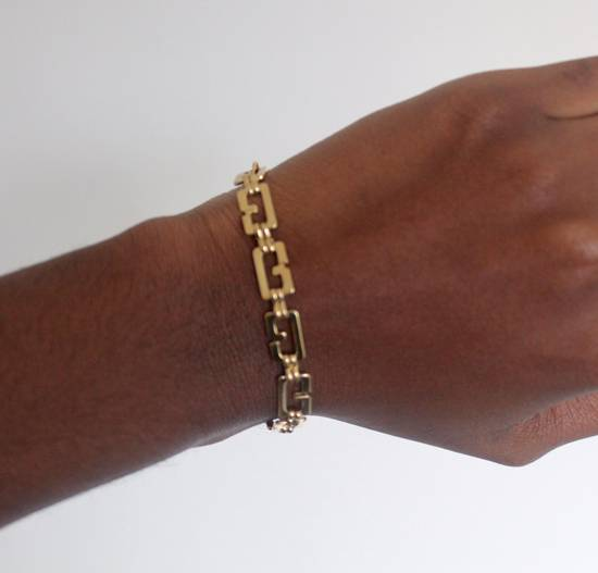 Givenchy Gold Plated G-Link Bracelet Size ONE SIZE - 3