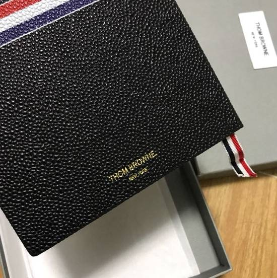 Thom Browne Thom Browne pebble grain leather notebook Size ONE SIZE - 3