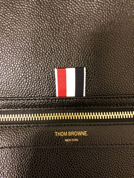 Thom Browne pebble grain leather tote bag Size ONE SIZE - 6