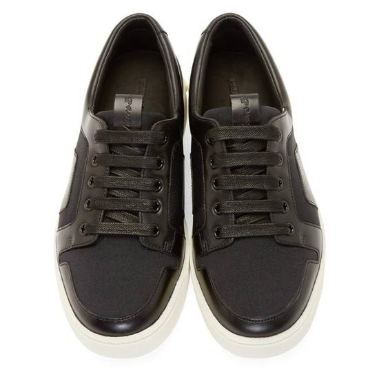 Balmain Low-Top Leather Sneakers Size US 12 / EU 45 - 5