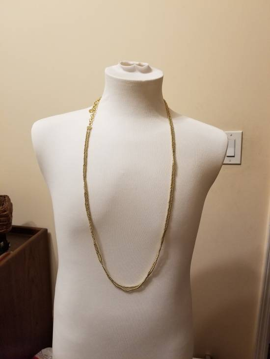 Givenchy Necklace dual strand gold plated Size ONE SIZE - 10
