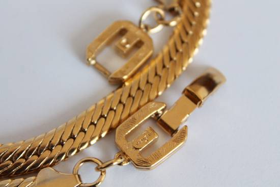 Givenchy Gold Plated Herringbone Chain Size ONE SIZE - 1