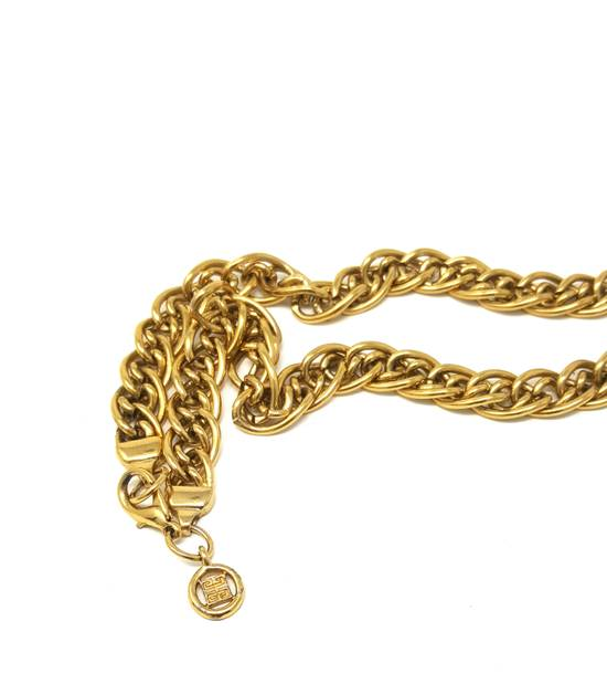 """Givenchy 24"""" Gold plated necklace Size ONE SIZE - 3"""