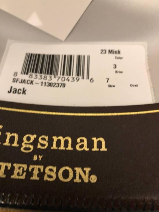 dc21c2e258f ... Stetson Kingsman + Stetson Jack s Statesman Leather-Trimmed Felt Hat  Size ONE SIZE - 7