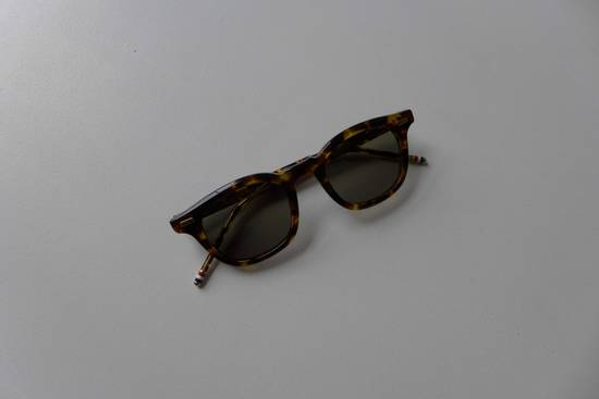 Thom Browne TB-403 Sunglasses - Tokyo Tortoise Size ONE SIZE - 3
