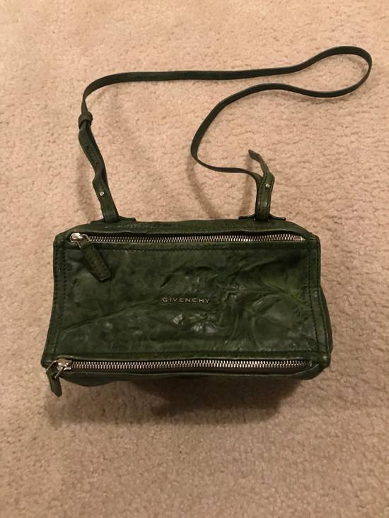 Givenchy givenchy mini pandora green leather cross bag Size ONE SIZE