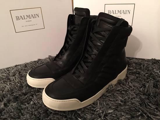 Balmain High Top Sneakers Size US 10 / EU 43
