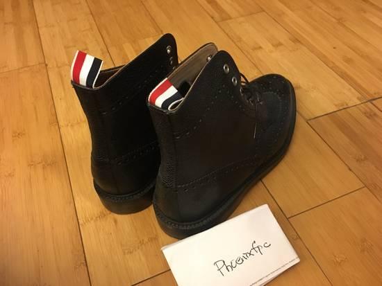 Thom Browne Thom BROWNE Leather Boots Size US 11 / EU 44 - 2