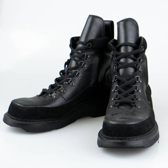 Julius 7 Black Cow Nubuck Leather Ankle Boots Shoes Size US 10 / EU 43