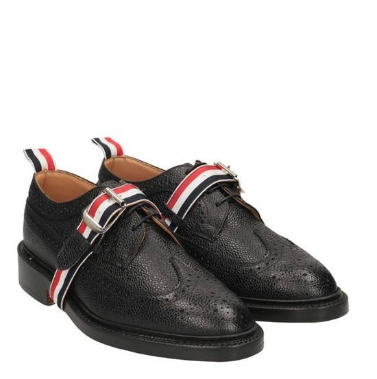 Thom Browne Brand New Thom Browne Classic Stripe Leather Lace up Size US 6 / EU 39
