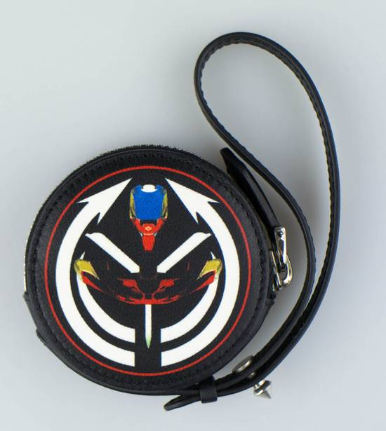Givenchy Men's Multi-Color Leather Tribal Print Coin Pouch Size ONE SIZE - 2