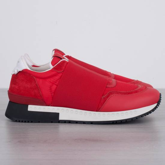 Givenchy Red Band Strap Sneakers Size US 11 / EU 44 - 1