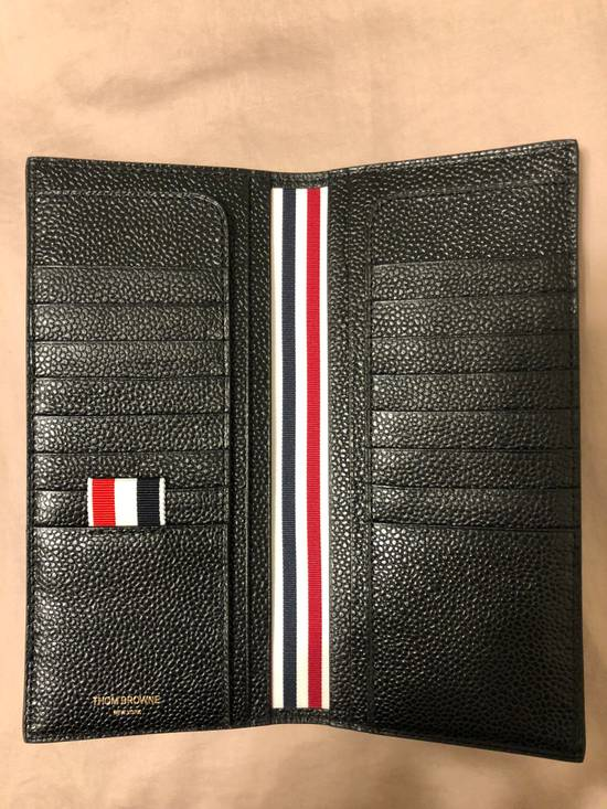 Thom Browne pebbled leather vertical wallet Size ONE SIZE - 4