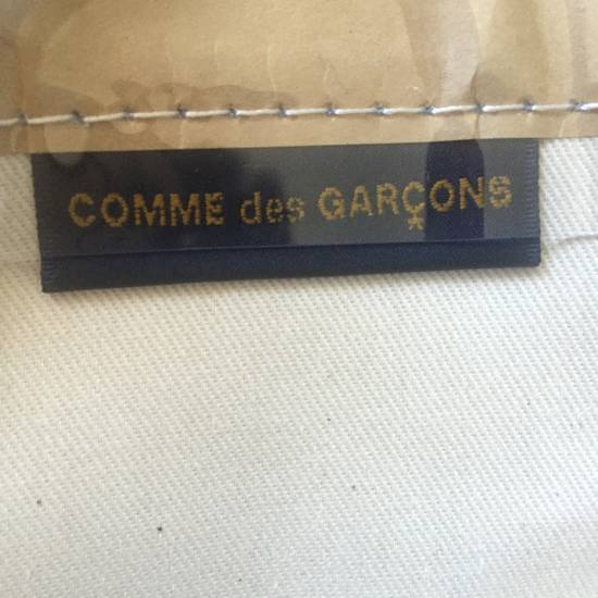 Comme des Garcons Brown Paper & Plastic Logo Tote Bag NWT Size ONE SIZE - 3