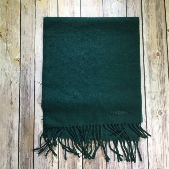 Givenchy Vintage Givenchy Pure New Wool Forest Green Scarf - Read Description Size ONE SIZE - 1