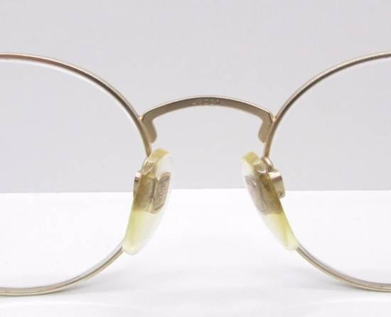 Givenchy GIVENCHY Vintage 90s Oval Round Frame Eyewear Gold Tone Purple Blue Pink Green Eyeglasses Glasses Size ONE SIZE - 3
