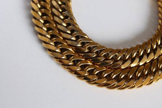 Givenchy Gold Plated Curb-Link Bracelet Size ONE SIZE - 5