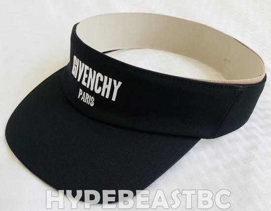 Givenchy GIVENCHY Logo Visor Hat Cap, Black, NWT, Made in Italy! Buy it now! Size ONE SIZE - 7