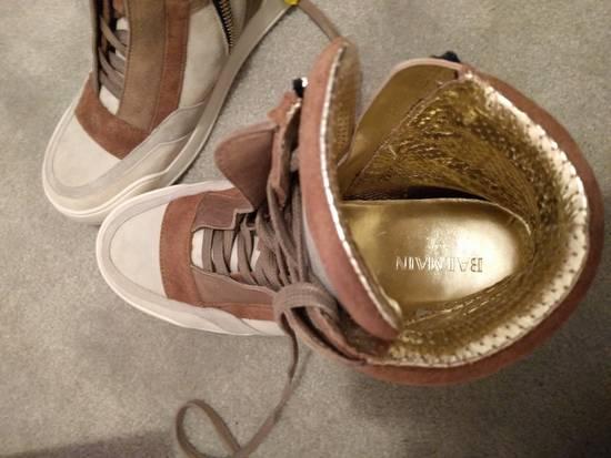 Balmain NEW Balmain Leather and Suede Hi-Top Sneakers Size US 9 / EU 42 - 2