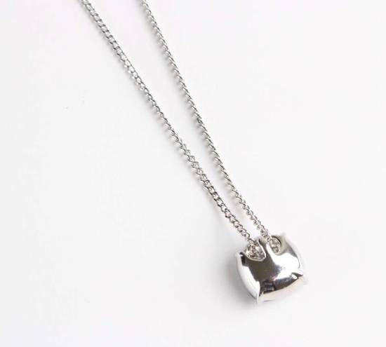 Givenchy Givenchy Blue Crystal Silver Necklace Diamond Chain Size ONE SIZE - 2