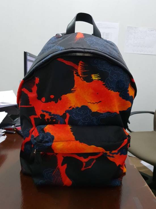 Givenchy Hell Fire Iconic Print Backpack Size ONE SIZE
