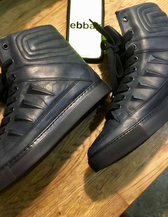 Givenchy Givenchy by Riccardo Tisci 2010 Triple black covered studs sneakers Size US 7 / EU 40