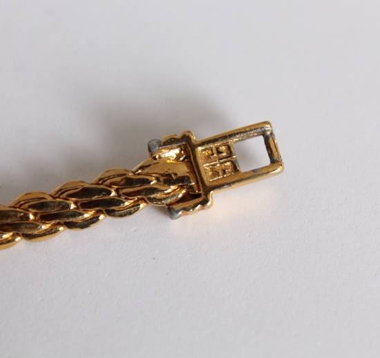Givenchy Gold Plated Flat Braided Bracelet Size ONE SIZE - 1