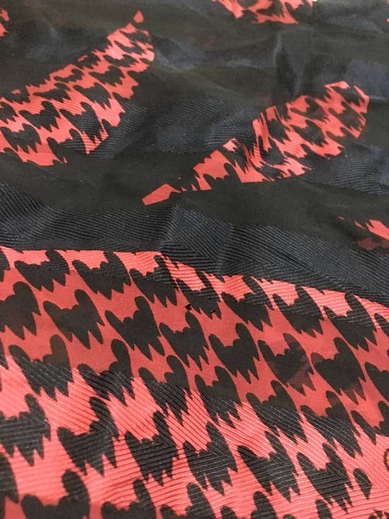 Givenchy Fish Koi Silk Scarf Size 30 - 3
