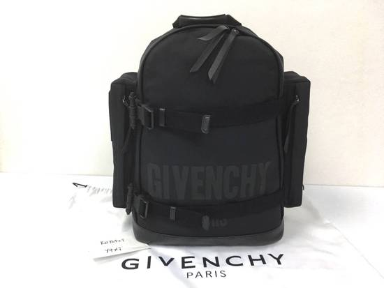 Givenchy Givenchy Logo Printed Backpack Size ONE SIZE - 2