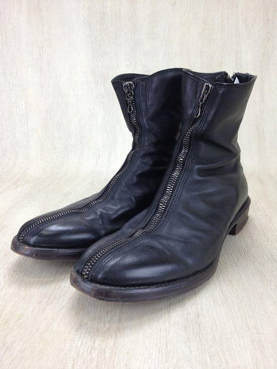 Julius ARCHIVE FW09 Front Zip Boots Size 2//9.5-10 Great Condition Size US 9.5 / EU 42-43