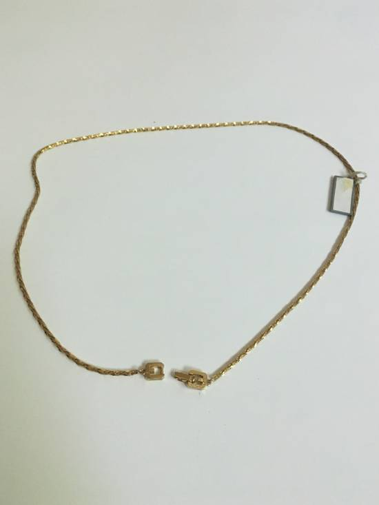 Givenchy Vintage Givenchy Thin Gold Necklace Size ONE SIZE - 1