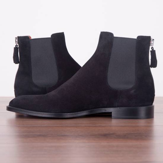 Givenchy SS18 New Suede Chelsea Boots With Back Zip Size US 8.5 / EU 41-42 - 4
