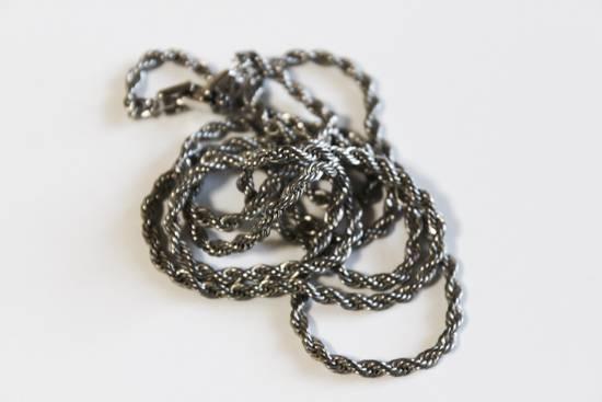 Givenchy Silver Braided Wrap Bracelet/Necklace Size ONE SIZE - 3