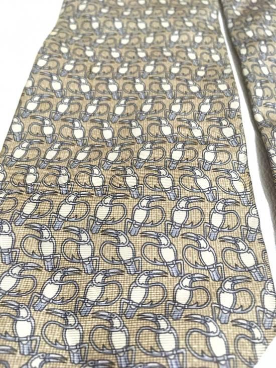 Balmain Vintage Balmain Tie Pierre Balmain Silk Necktie Animal Repeat Tie Size ONE SIZE - 1