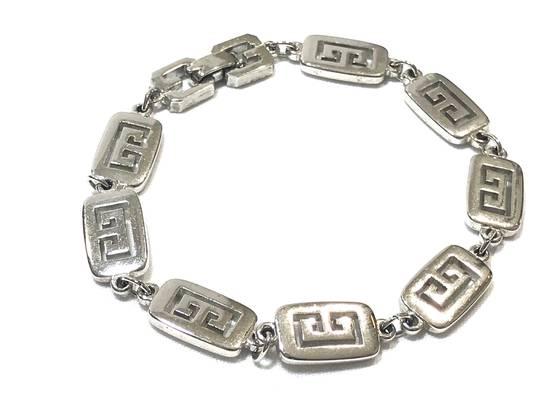 Givenchy Silver Logo Bracelet Size ONE SIZE - 1